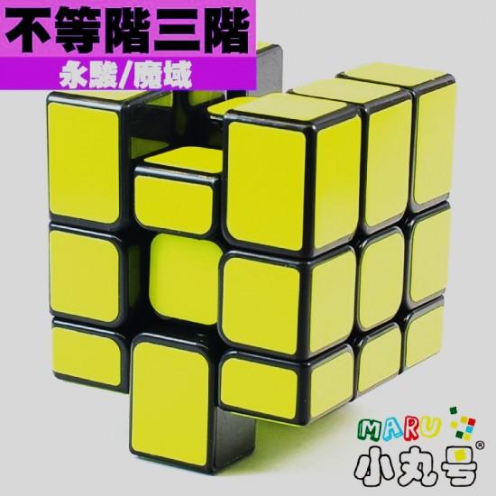 梯色 - 異形方塊 - 不等階 黑底