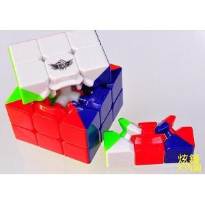 木瓜 - 3x3x3 - 飛舞 - 大木瓜 - 大內圓 - 六色