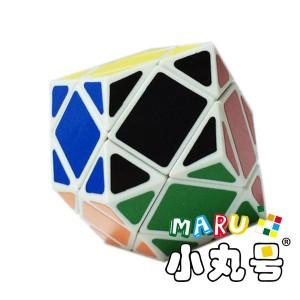 異形方塊 - 菱形十二面 - 白色