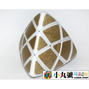 異形方塊 - 魔粽方塊 - 單色金粽 pillowed pyramorphix gold
