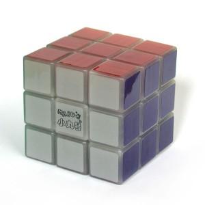 小丸號 - 紳藍三階 - 3x3x3 - 紳藍軸心 - 紫夜光