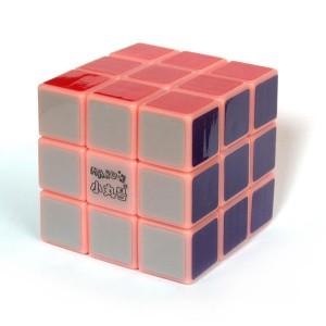 小丸號 - 紳藍三階 - 3x3x3 - 紳藍軸心 - 紅夜光