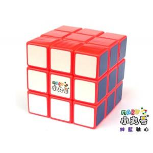 小丸號 - 紳藍三階 - 3x3x3 - 紳藍軸心 - 螢光橙