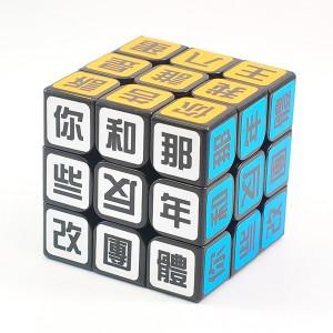 小丸號 - 3x3 - 名言語錄方塊 [你和那些反年改團體] XD三階 - 限量