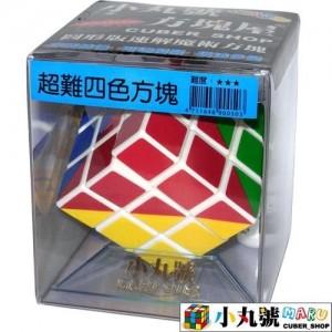 小丸號 - 3x3x3 - 圖形方塊 - 超難四色版