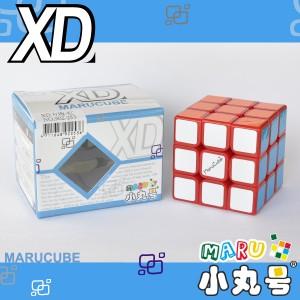 小丸號 - 3x3x3 - XD三階 - 紅