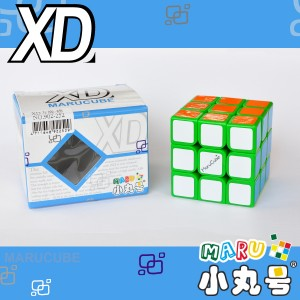 小丸號 - 3x3x3 - XD三階 - 綠