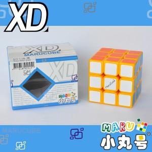 小丸號 - 3x3x3 - XD三階 - 黃(蜂蜜檸檬)