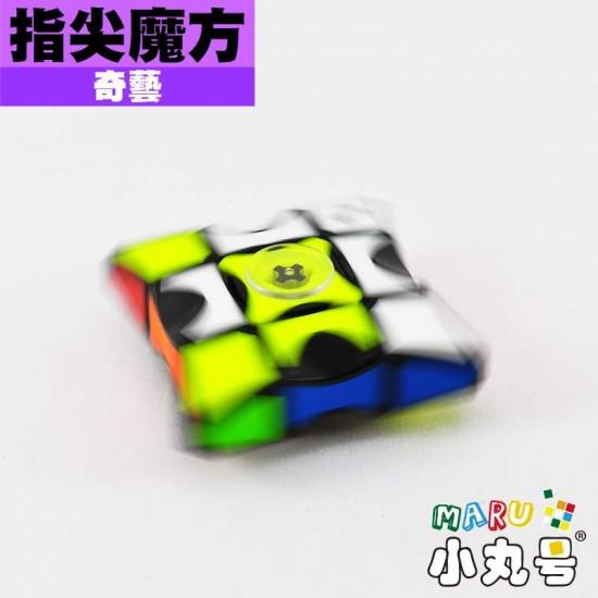 魔方格 - 異形方塊 - 指尖轉轉 3x3x1 貼片版