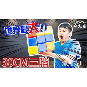 3x3x3 - 30cm 超大三階