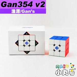 淦源 - 3x3x3 - Gan354 M v2 探索者版