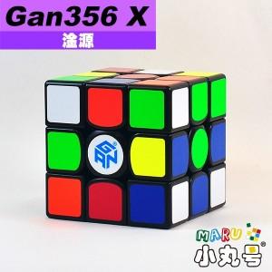 淦源 - 3x3x3 - Gan356 X - 黑色(數調版) - 贈10ml小丸油