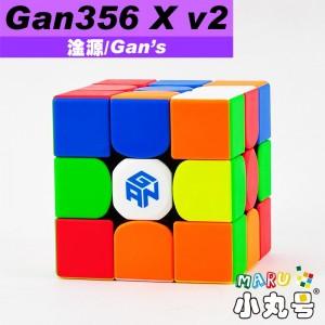 淦源 - 3x3x3 - Gan356 X v2 原廠改磁版 - 贈10ml小丸油