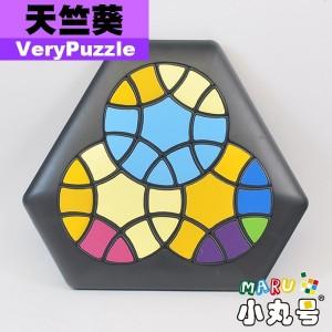 VeryPuzzle - 異形方塊 - 天竺葵 (六邊形)