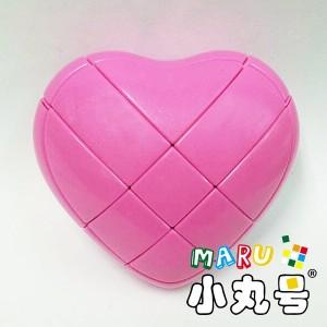 異形方塊 - 愛心方塊 - 粉桃色