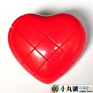 異形方塊 - 愛心方塊 - 紅色