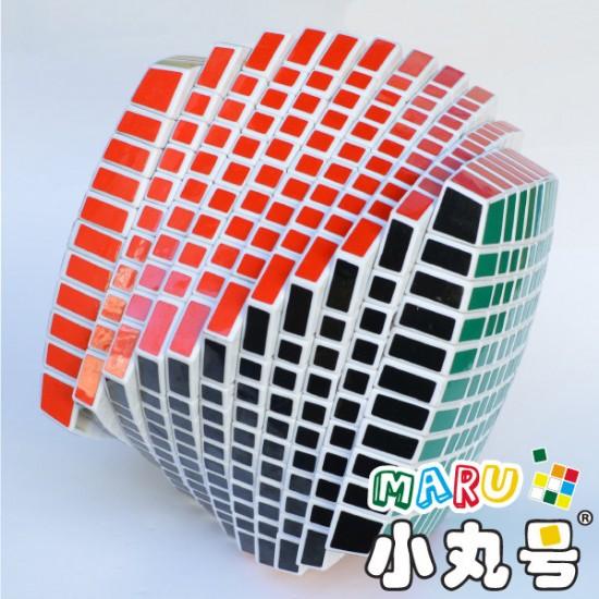 裕鑫 - 11x11x11 - 贈10ml小丸油+CubeSticker標準配色貼