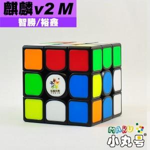 裕鑫 - 3x3x3 - 麒麟v2 M 原廠改磁版