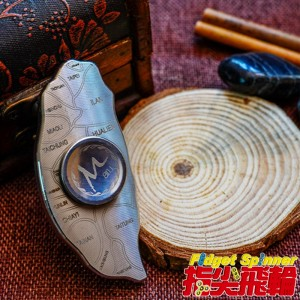 【指尖飛輪】【限量】台灣轉轉☆全不鏽鋼☆雷射雕刻☆Fidget Spinner(指尖陀螺、手指陀螺)☆超高質感