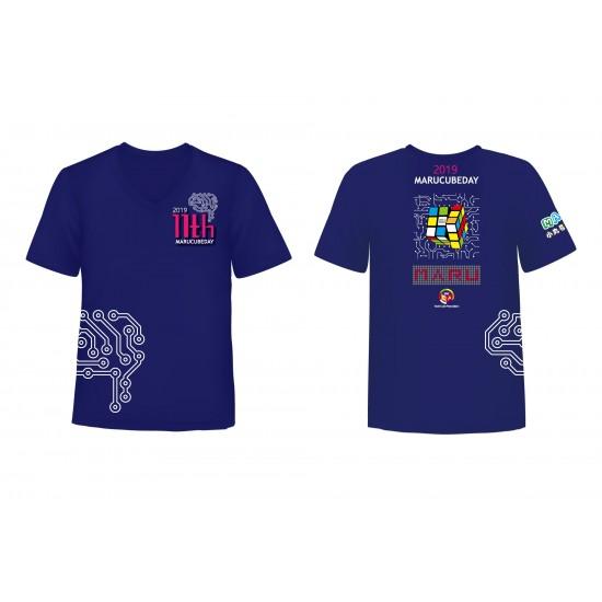 魔術方塊T恤 - 第十一屆紀念服 - V領