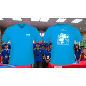 魔術方塊T恤 - 第四屆紀念服 - V領