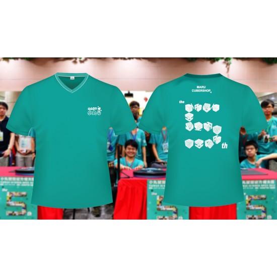 魔術方塊T恤 - 第五屆紀念服 - V領