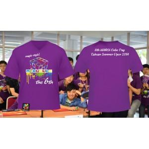 魔術方塊T恤 - 第六屆紀念服 - V領
