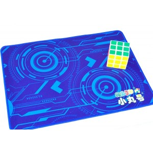 魔術方塊專用墊 - 大 - 科技藍- 40*30cm