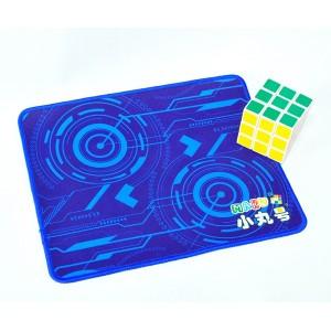 魔術方塊專用墊 - 小 - 科技藍- 27*22cm