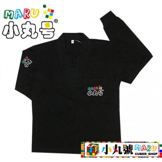 魔術方塊T恤 - 長袖 - 黑紅黃三色
