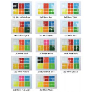 Cubesticker貼 - 2x2 - 50mm全系列 (適用 MF2S 戰狼 冠魄 威魄 唐魄 Valk2)