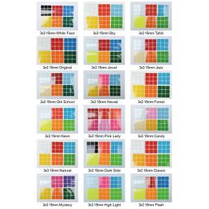 Cubesticker貼 - 3x3 - 15mm全系列 適用紳藍 國甲 國丙 官方