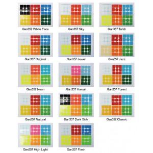 Cubesticker貼 - 3x3 - Gan357全系列