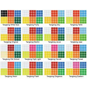 Cubesticker貼 - 3x3 - 唐龍貼全系列