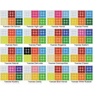 Cubesticker貼 - 3x3 - 月曉Pro 全系列 (適用MGC 月曉E 月曉EDM)