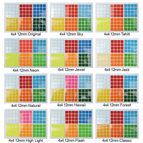 Cubesticker貼 - 4x4 - 12mm全系列