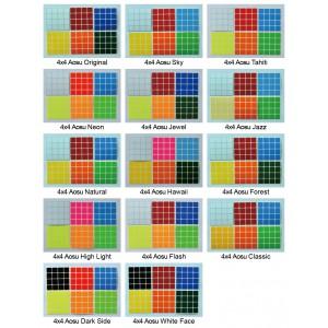 Cubesticker貼 - 4x4 - 傲速全系列 (適用啟源 MF4 雷霆四階)