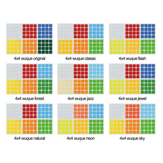 Cubesticker貼 - 4x4 - 無缺 全系列(適用傲速GTS2)