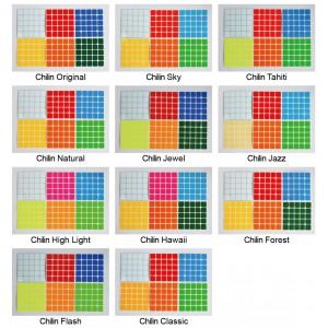 Cubesticker貼 - 5x5 - 麒麟全系列 (適用Valk5 無雙)