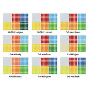 Cubesticker貼 - 6x6 - Kirin 紅麒麟全系列