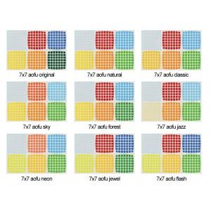 Cubesticker貼 - 7x7 - AoFu 傲賦全系列