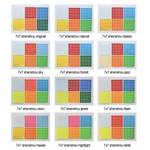 Cubesticker貼 - 7x7 - Standard 全系列