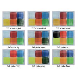 Cubesticker貼 - 7x7 - v-cube 全系列