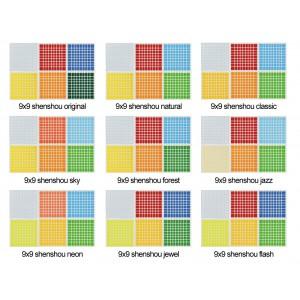 Cubesticker貼 - 9x9 - standard 聖手九階全系列