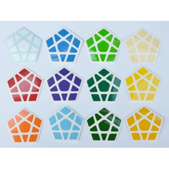 Cubesticker貼 - Megaminx - Earth