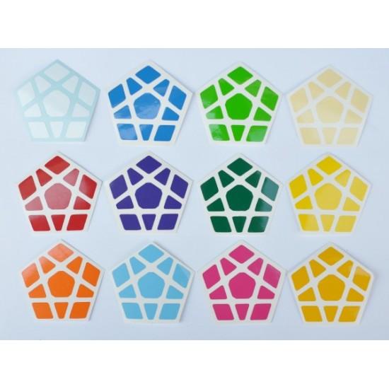 Cubesticker貼 - Megaminx - Moon