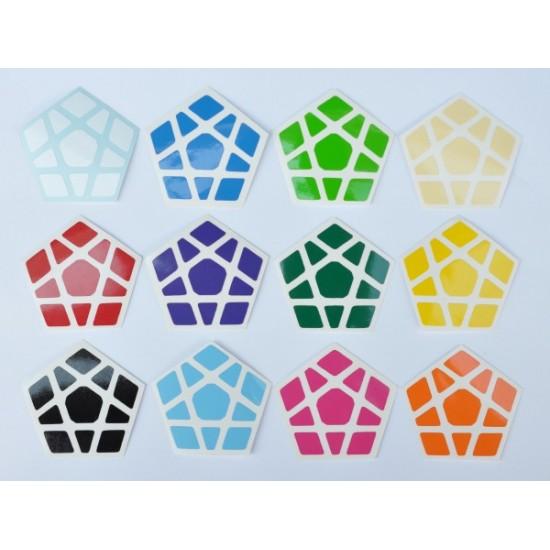 Cubesticker貼 - Megaminx - Titan