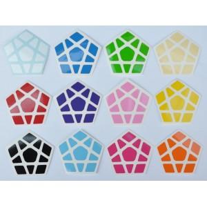 Cubesticker貼 - Megaminx - Venus