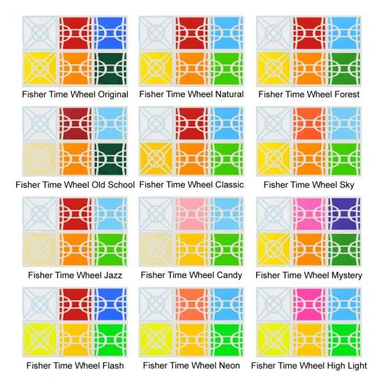 Cubesticker貼 - 異形方塊- 移棱時光輪 全系列